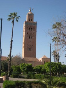 Koutoubia mosque Marrakech