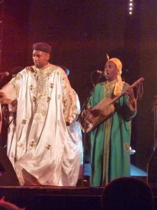 the gimbri is the key instrument in gnawa music