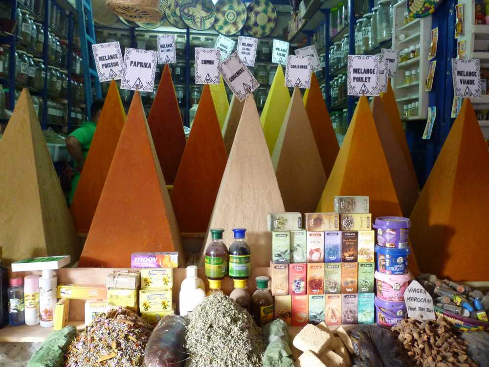 traditional spice shop