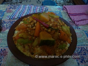 good old Moroccan home cooking