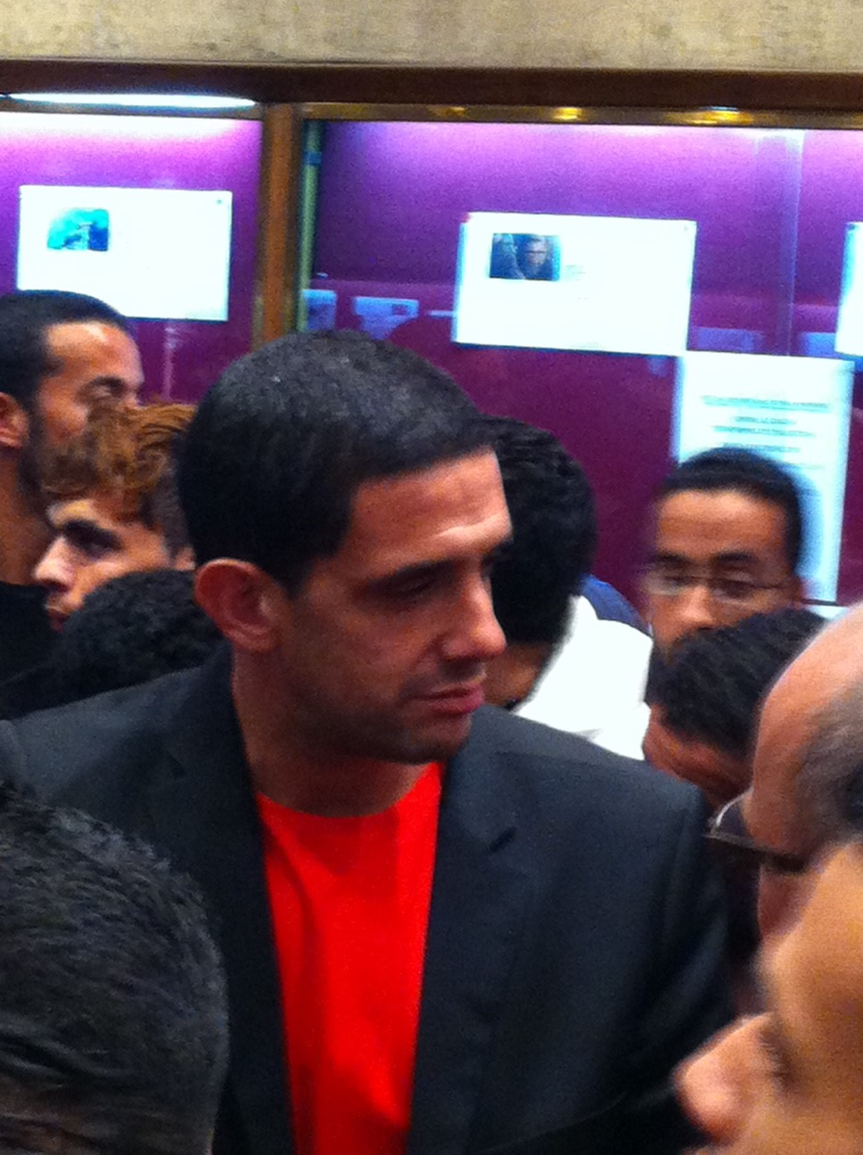 Hicham Ayouch at the Marrakech Film Festival 2014
