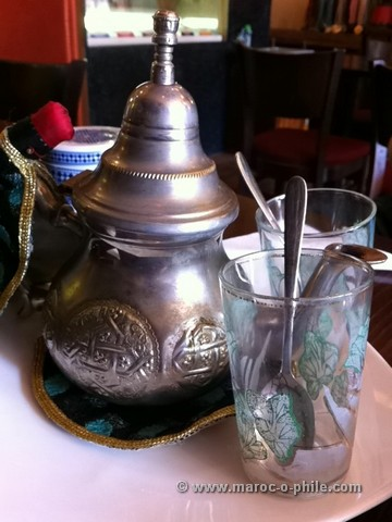 tea in Essaouira