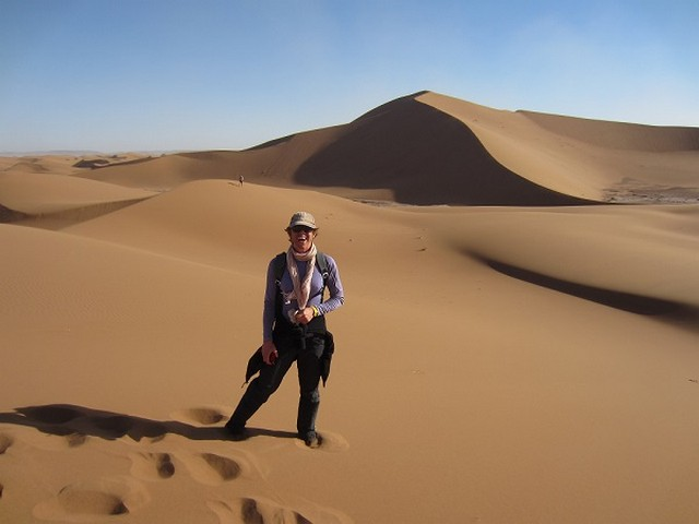 Emily of Wild Morocco in the Sahara