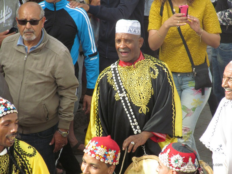 The Essaouira Gnaoua Festival 2015 opened with a colourful parade