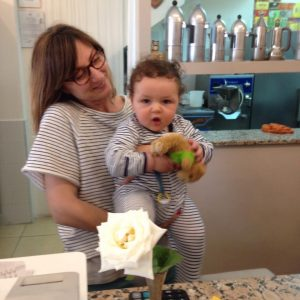 Get to know local café staff (or just put your baby to work in one) for changing and feeding options