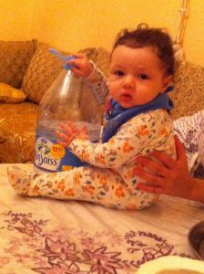 many Moroccan bottled waters are suitable for babies