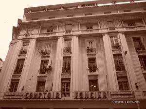 Art Deco Casablanca architecture